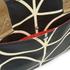 Orla Kiely Women's Stem Zip Messenger Bag - Black: Image 3
