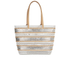 Loeffler Randall Women's Beach Tote Bag - White/Silver/Natural: Image 5