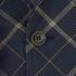 Vivienne Westwood MAN Men's Tea Wool Tartan Waiscoat Jacket - Navy: Image 4