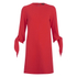 Tibi Women's Tie Sleeve Dress - Scarlet Red: Image 1
