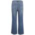 Marc by Marc Jacobs Women's Wide Leg Denim Trousers - Crop Blue: Image 2