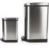 Morphy Richards 977101 Rectangular Pedal Bin Set - Stainless Steel - 40L & 10L: Image 2
