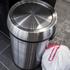 Morphy Richards 977110 Round Sensor Bin - Stainless Steel - 30L: Image 5