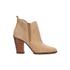 MICHAEL MICHAEL KORS Women's Brandy Sport Suede Heeled Chelsea Boots - Toffee: Image 1