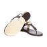 MICHAEL MICHAEL KORS Women's MK Plate Thong Flat Sandals - Brown: Image 6