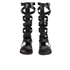 MICHAEL MICHAEL KORS Women's Darby Vachetta Knee High Gladiator Sandals - Black: Image 3