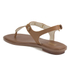 MICHAEL MICHAEL KORS Women's MK Plate Thong Flat Sandals - Luggage: Image 6