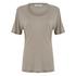 Samsoe & Samsoe Women's Agnes T-Shirt - Vintage Khaki: Image 1