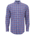 GANT Men's Matchpoint Poplin Check Shirt - Hurricane Blue: Image 1