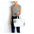 meli melo Womens Kiki Aloe Print Tote Bag - White: Image 4