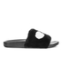 Marc by Marc Jacobs Women's Dot Fur Slide Sandals - Black: Image 1
