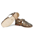 H Shoes by Hudson Women's Sherbert Leather Sandals - Bronze: Image 6