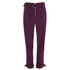 Lavish Alice Women's D-Ring Belt and Cuff Tapered Leg Trousers - Aubergine: Image 1