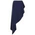 Lavish Alice Women's Bandeau Asymmetric Drape Crop Top - Navy: Image 1