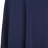 Lavish Alice Women's Bandeau Asymmetric Drape Crop Top - Navy: Image 4