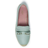 REDValentino Women's Eyelet Bow Leather Espadrilles - Mint: Image 3