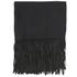 BeckSöndergaard Women's Kamo Leather Tassle Wool Scarf - Black: Image 2