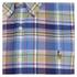 Polo Ralph Lauren Men's Checked Button Down Shirt - Blue: Image 3