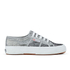 Superga Women's 2750 Animalnetw Classic Trainers - Snake Silver: Image 1