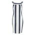 Finders Keepers Women's Wicked Games Dress - Stripe: Image 1