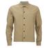 Universal Works Men's Slub Japanese Cotton Uniform Shirt - Camel: Image 1