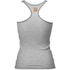 Better Bodies Women's N.Y Rib T-Back Tank Top - Grey Melange: Image 2