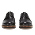 Grenson Women's Dulcie Leather Wave Top Derby Shoes - Black: Image 4