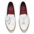 Grenson Women's Kat Leather Tassel Loafers - White: Image 2