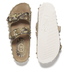 Ash Women's Utopia Studded Snake Print Double Strap Sandals - Desert/Wilde: Image 5