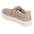 Ash Women's Jordy Puff/Nappa Wax Flatform Slip-On Trainers - Taupe: Image 5
