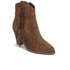 Ash Women's Isha Suede Heeled Cowboy Boots - Sigaro: Image 2