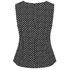Diane von Furstenberg Women's Mallorie Top - Black/Ivory/Black: Image 2