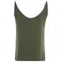 VILA Women's Melli Singlet Top - Ivy Green: Image 2