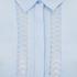 VILA Women's Pama Long Sleeve Shirt - Cashmere Blue: Image 3