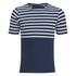 Arpenteur Men's Rachel Striped Jersey T-Shirt - Navy/White: Image 1