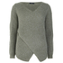 VILA Women's Match Wrap Jumper - Mermaid: Image 1