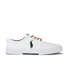 Polo Ralph Lauren Men's Faxon Canvas Trainers - White: Image 1