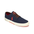 Polo Ralph Lauren Men's Faxon Low-Ne Canvas Trainers - Navy: Image 4