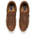 Polo Ralph Lauren Men's Geffrey Canvas/Leather Trainers - Polo Tan: Image 2