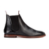 H Shoes by Hudson Men's Tamper Leather Chelsea Boots - Black: Image 1