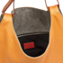 Paul Smith Accessories Women's Medium Leather Hobo Bag - Orange: Image 4