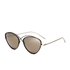 Prism Women's Brooklyn Sunglasses - Black/Rose Gold: Image 2