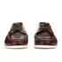 G.H Bass & Co. Men's Camp Moc Jackman Pull Up Leather Boat Shoes - Dark Brown: Image 4