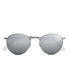 Ray-Ban Round Metal Sunglasses - Matte Silver: Image 1