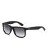 Ray-Ban Justin Rubber Sunglasses 54mm - Black: Image 2