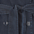 HUGO Women's Mintu Trench Coat - Blue: Image 5