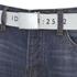 Smith & Jones Men's Farrier Belted Denim Jeans - Medium Wash: Image 4