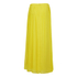 BOSS Orange Women's Beflowy Pleated Maxi Skirt - Yellow: Image 2