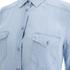 BOSS Orange Women's Crop Denim Shirt - Blue: Image 4