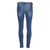 BOSS Orange Women's J10 Florida Frayed Cuff Jeans - Blue: Image 4